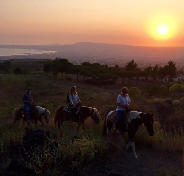 Vesuvius Horseback Riding Tour